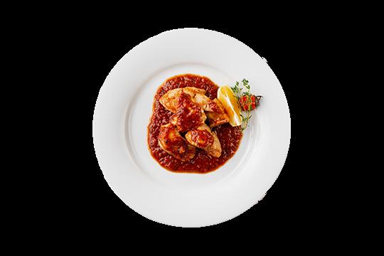 Судак в томатно-винном соусе Качуко
