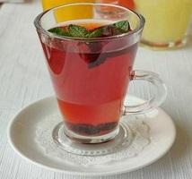 Чай с лесными ягодами