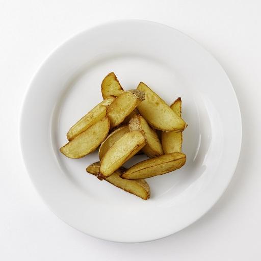 Обжаренные картофельные дольки