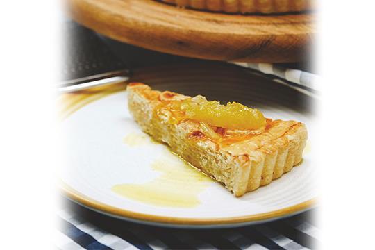 Пирог лимоный
