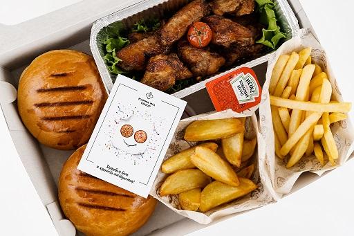 Сет Burger box