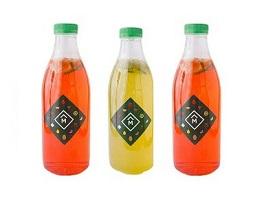 Лимонад клубника-маракуйя