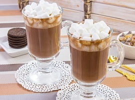 Горячий какао с маршмеллоу