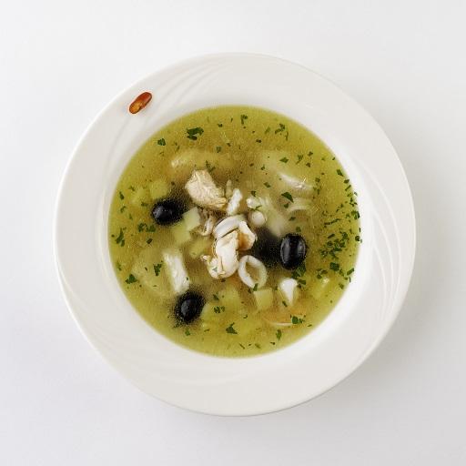Суп рыбный по-итальянски