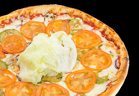 Вегетарианская с сыром .