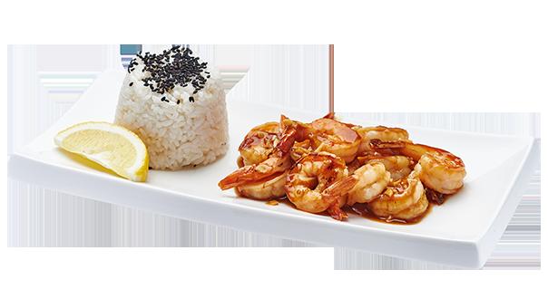 Эби унаги с рисом