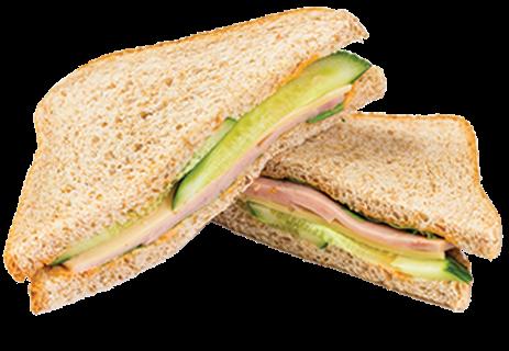 Сэндвич с ветчиной и сыром **