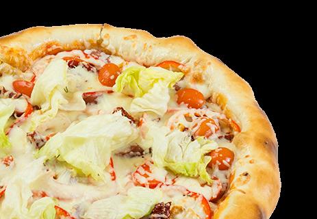 Пицца от шефа.