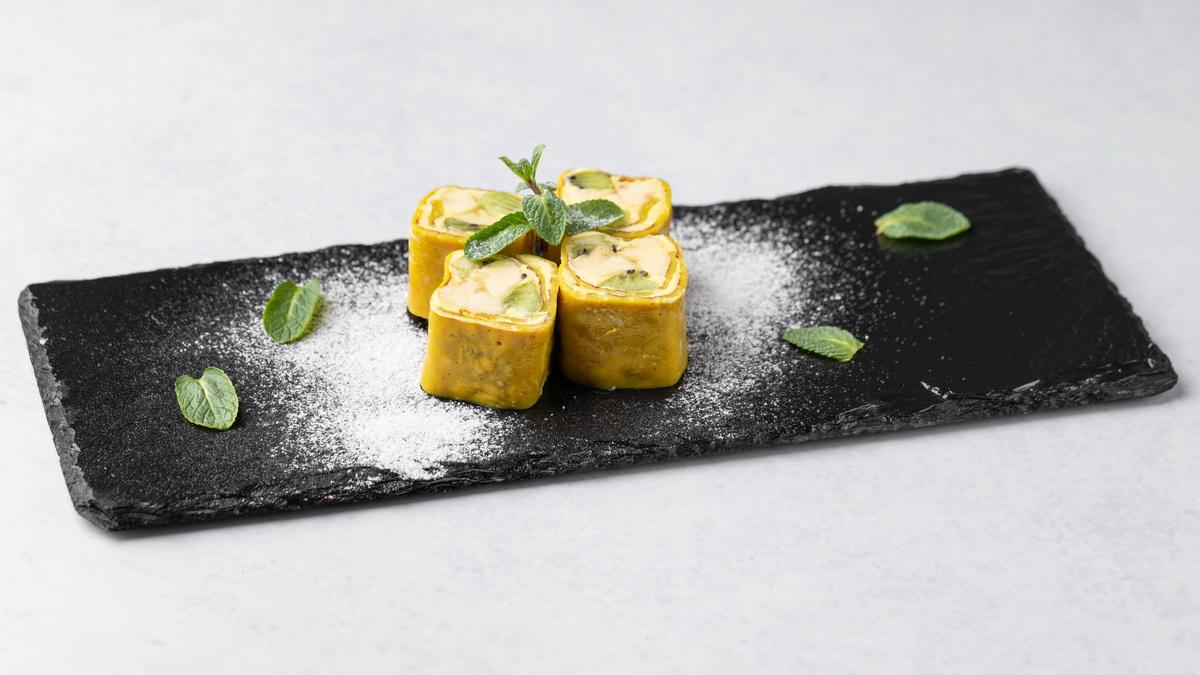 Десертный ролл Фрутелла