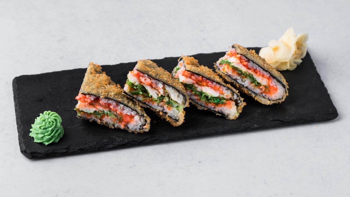 Супер-Сэндвич с креветкой