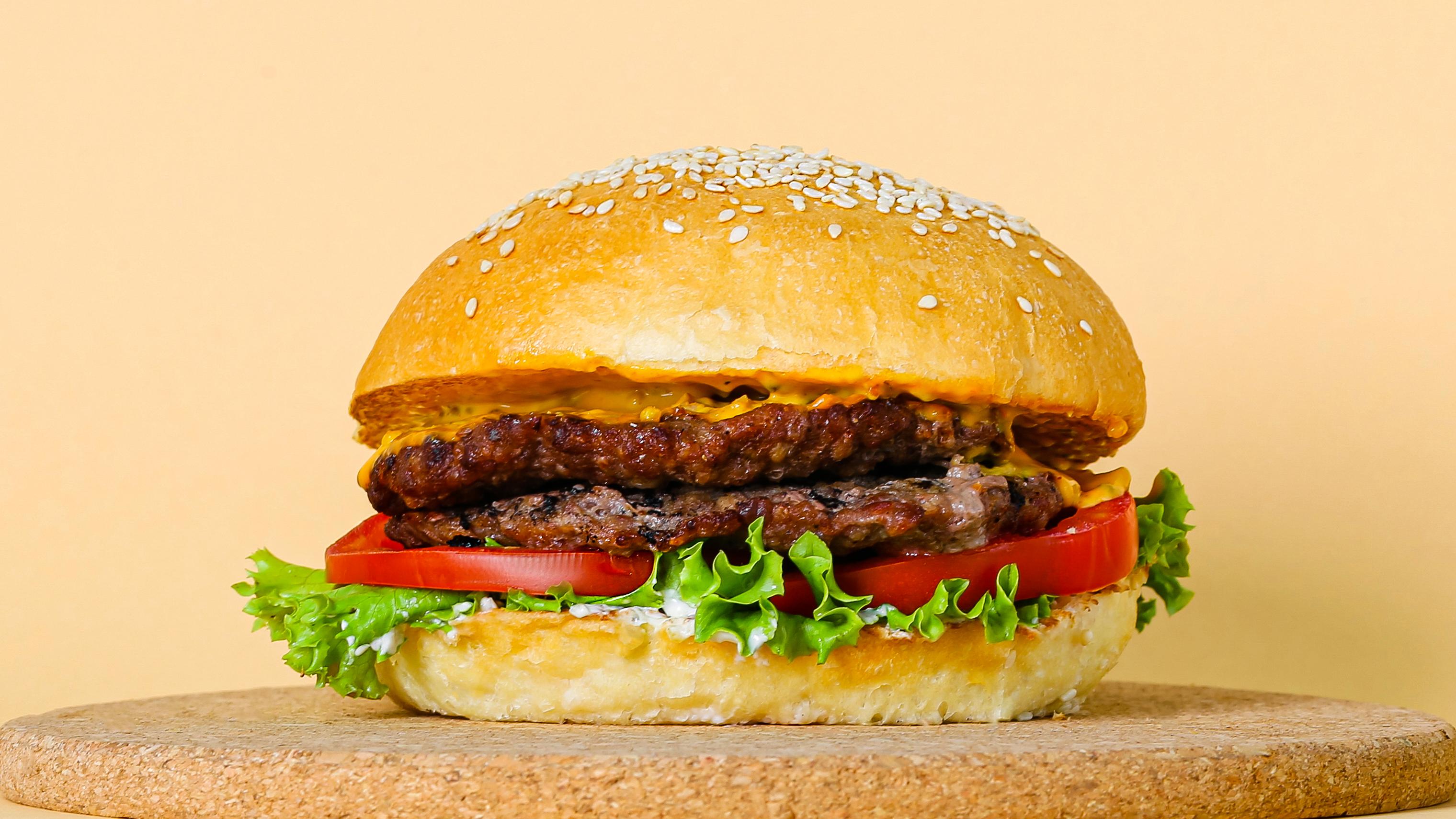 Бургер говяжий