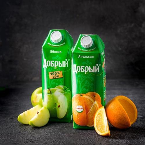 Сок добрый картинки из рекламы
