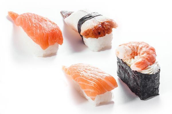 Суши с коп. лососем