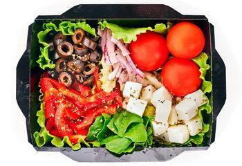 Салат Овощной с фетой