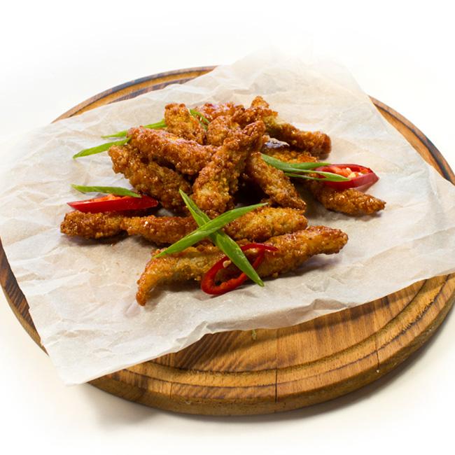 Фото Куриные палочки в фирменном соусе