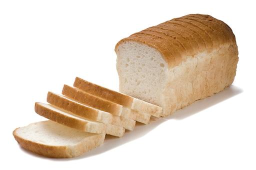 Фото Хлеб белый кус.