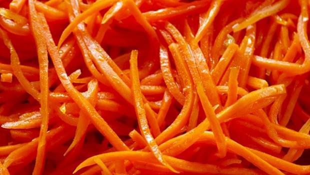 Морковь корейская