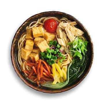 Рамэн вегетарианский с сыром Тофу