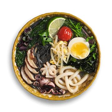 Рамэн с морепродуктами